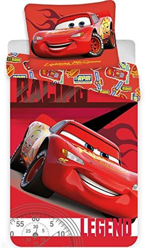 Disney - Parure da letto a tema Cars, copripiumino