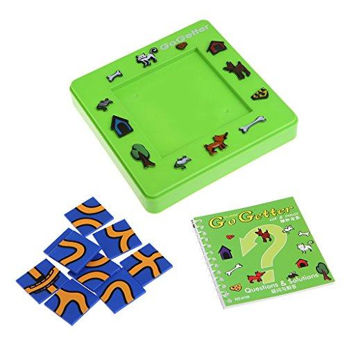 MIKI-Z Go Getter Katz und Maus Spielzeugbrett Cartoon Puzzle Labyrinth Intelligenz Spiel Geschenk