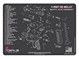 Cerus Gear M&P Shield Schematic Promat, Charcoal Gray/Pink