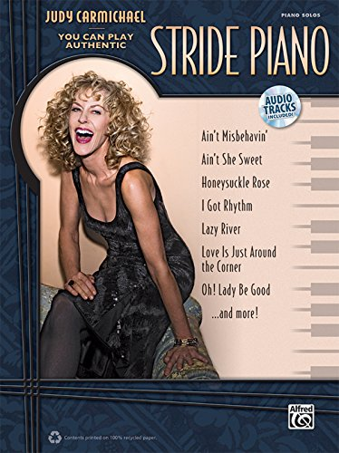 Judy Carmichael: You Can Play Authentic Stride Piano [With CD (Audio)] (LIVRE SUR LA MU)