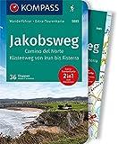 KOMPASS Wanderführer Jakobsweg Camino del Norte: Wanderführer mit Extra-Tourenkarte 1:50.000, 60 Touren, GPX-Daten zum Download