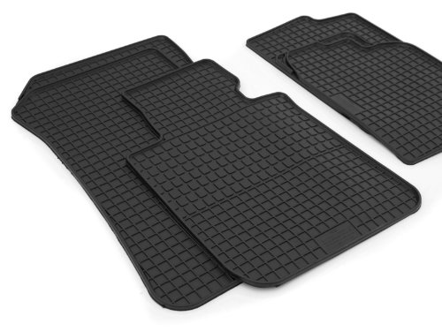 Gummimatten F20 F21 (4-teilig) Original Qualität Gummi Fußmatten schwarz