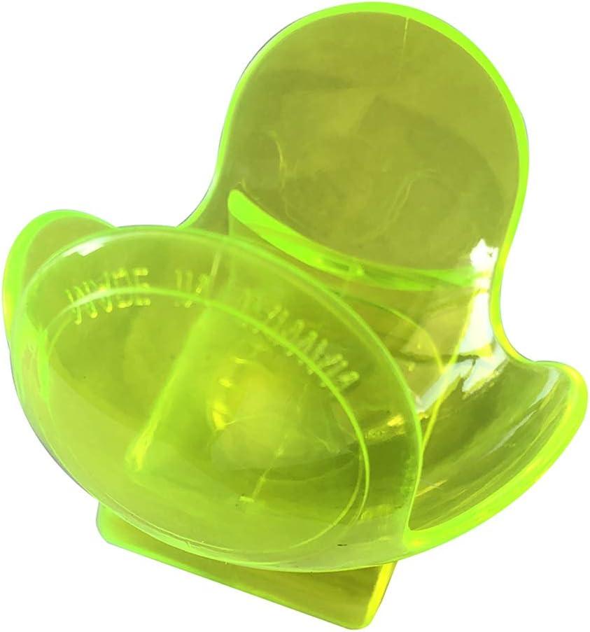 Walmeck 1Pc transparenter Tennisballclip Kunststoff Tennis Trainingsballhalter