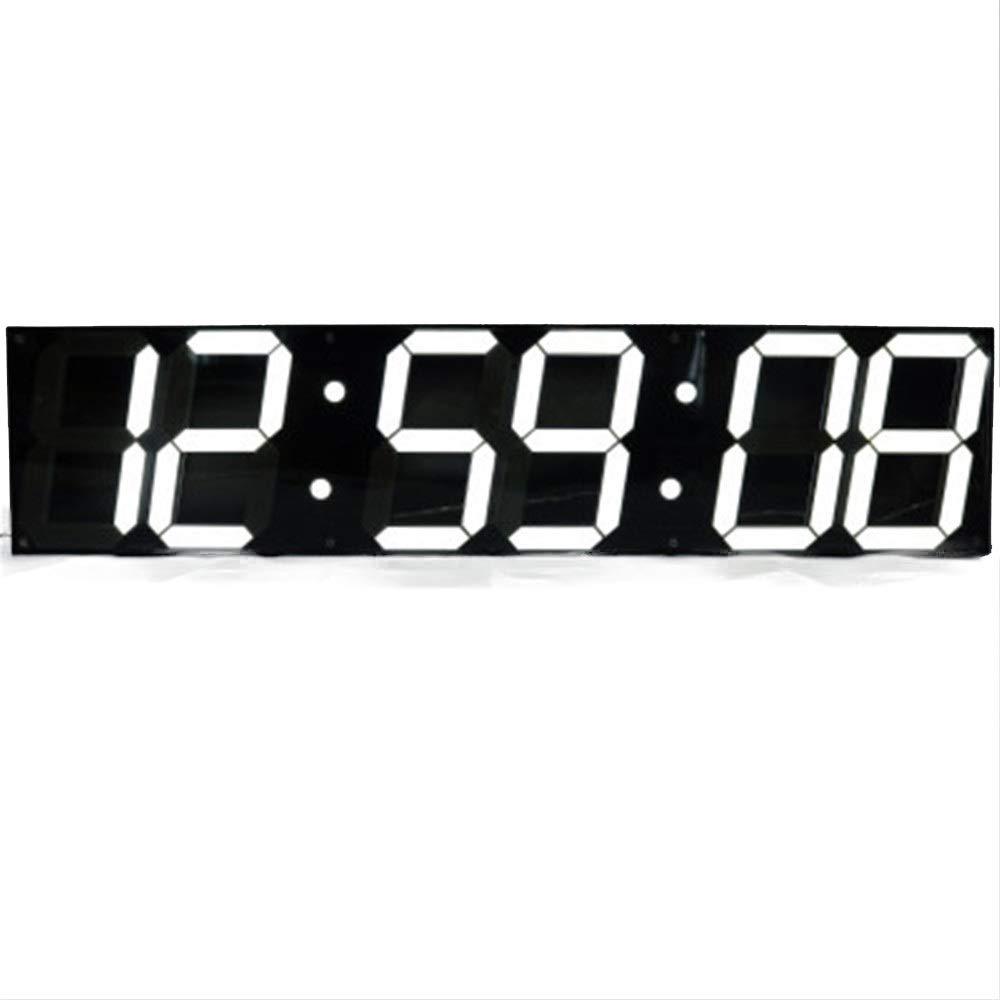Susulv-EAC LED Temporizador de Pared Alarma Reloj de batería Reloj de Pared Grande LED Digital Multifuncional Control Remoto Temporizador de Cuenta Regresiva Digital Grande Grande Jumbo LED: Amazon.es: Hogar
