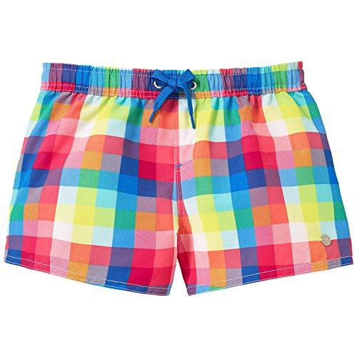 Schiesser Mädchen Badeshorts Beach - Shorts, Mehrfarbig (multicolor 1 904), Gr. 152