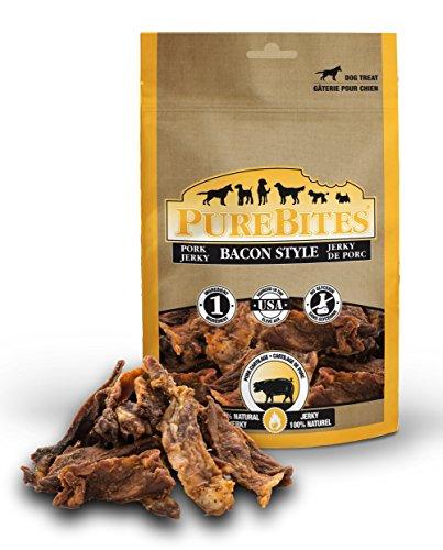 Purebites Bacon Jerky Treats For Dogs