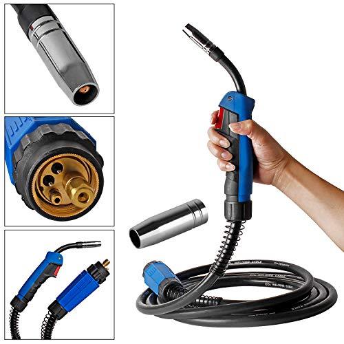 MAG Tubo per tubo flessibile del gas schermante Torcia per saldatura MB15 5m Torcia per saldatura MIG