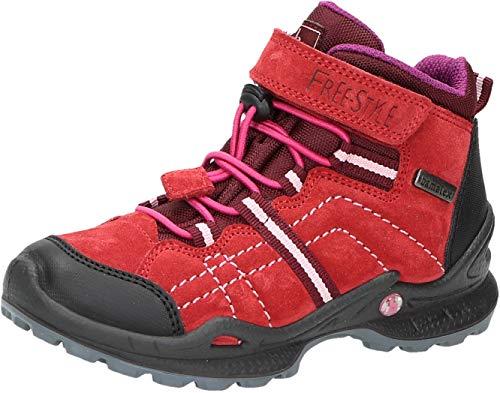 Bama Kids 1025190 Jungen und Mädchen Stiefelette Rot, EU 27