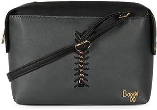Baggit Women's Synthetic Sling Bag (Grey) (Lp Carne Y G Z)