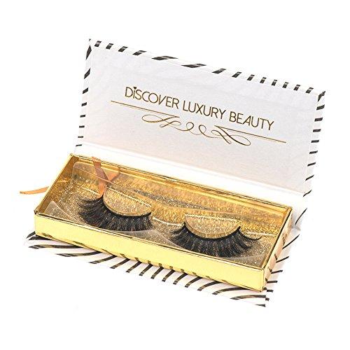 Arison Lashes Faux-clis 3D False Eyelashes 3D Maquillage longs Volumineux Effect Dramatique 100% Handmade Pour Makeup