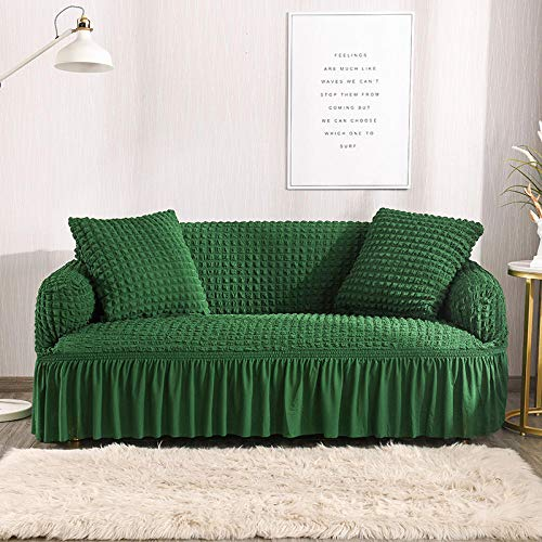 HXTSWGS Jacquard Sofahusse,Dog Sofa Cover, Living Room Home Armchair Sofa Cover, Sofa seat Cover, pet Dog Protective Cover-Color7_235-300cm