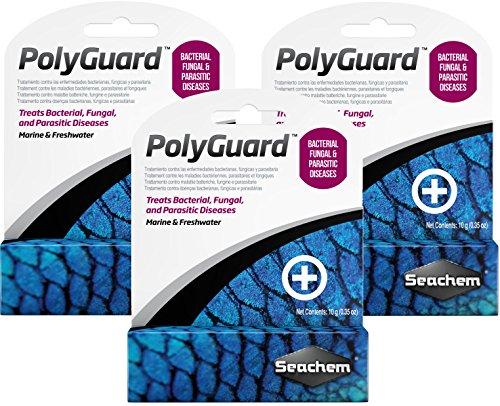 (3 Pack) Seachem PolyGuard 10 Gram