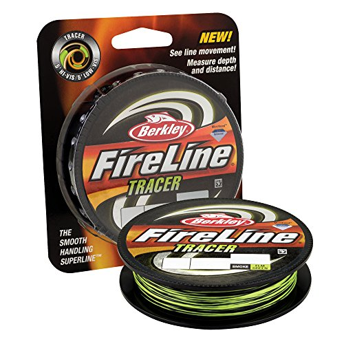 Berkley Fused Crystal Fireline, 20/8 Lb, 300 Yd , Smoke/Flame Green