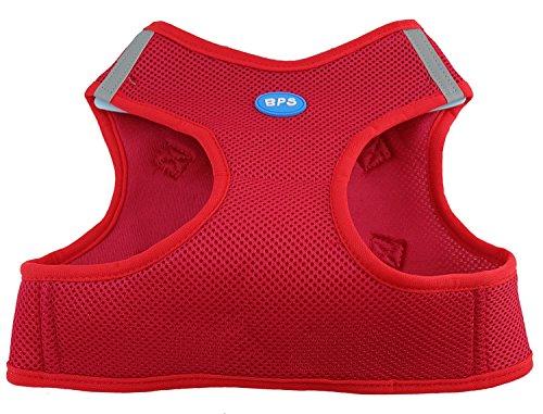 BPS® Arnés para Perros Mascotas Callar para Perros Mascotas 5 Tamaños para Elegir para Perro pequeño Mediano y Grande (Rojo, XS) BPS-3857R