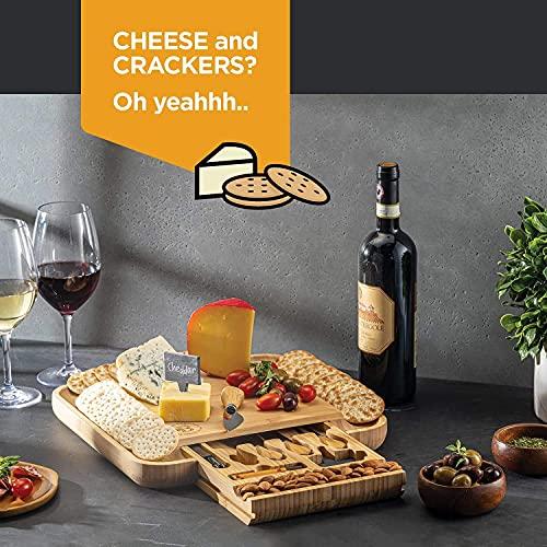 Bambüsi Premium Bamboo Cheese Board