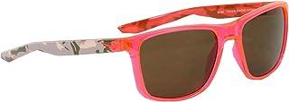 نظارة شمسية للرجال من نايك، باللون البني، 57 ملم، نايك اسينشال انديا