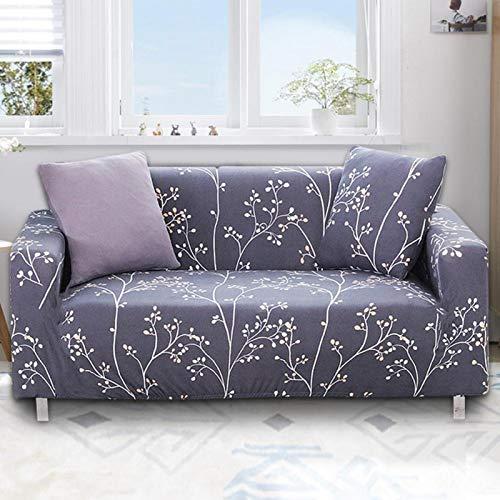 wasserdichte elastische Schonbezug Sofabezug Set Wohnzimmer Home Dekoration für Sofa(Three Persons 190-230cm)