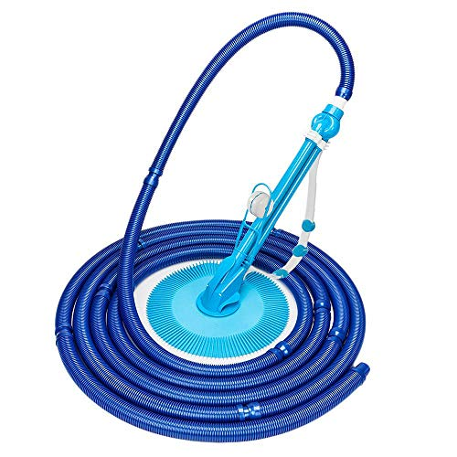 Find Discount samanoya Pool Cleaners,in-Ground Suction Pool Creepy Crawler Vacuum with Additional Ho...