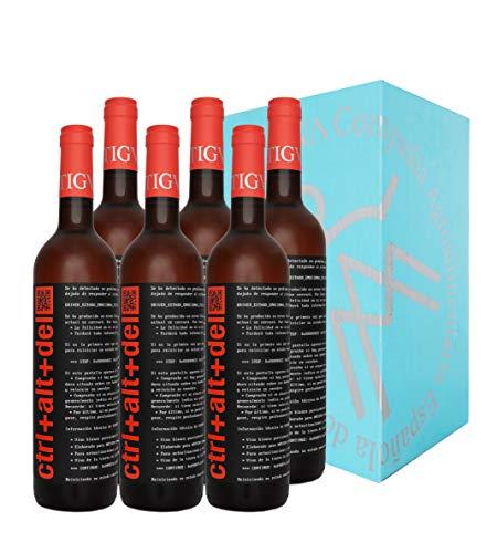 Ctrl+Alt+Del - Vino rosado semi-dulce - Tierra de Castilla - 6 botellas