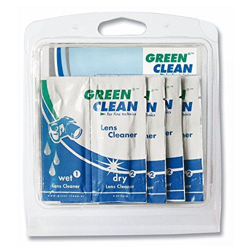 Green Clean Lens Cleaner Objektive/Glas Gerätreinigungs-Feucht-& Trockentücher - Reinigungskits (Gerätreinigungs-Feucht-& Trockentücher, Objektive/Glas, 70 g, 10 Stück(e))