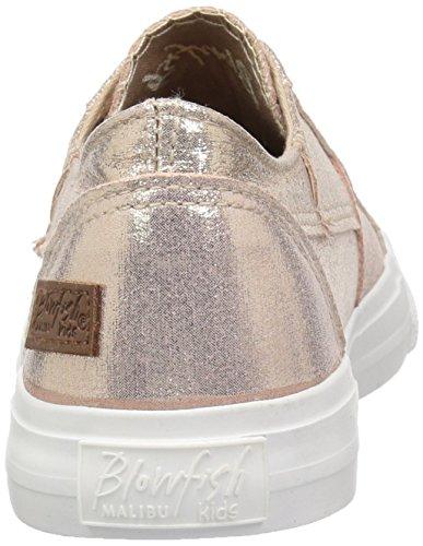Blowfish Kids Girls' Marley-k Sneaker, Rosegold Supernova Canvas, 13 Medium US Little Kid