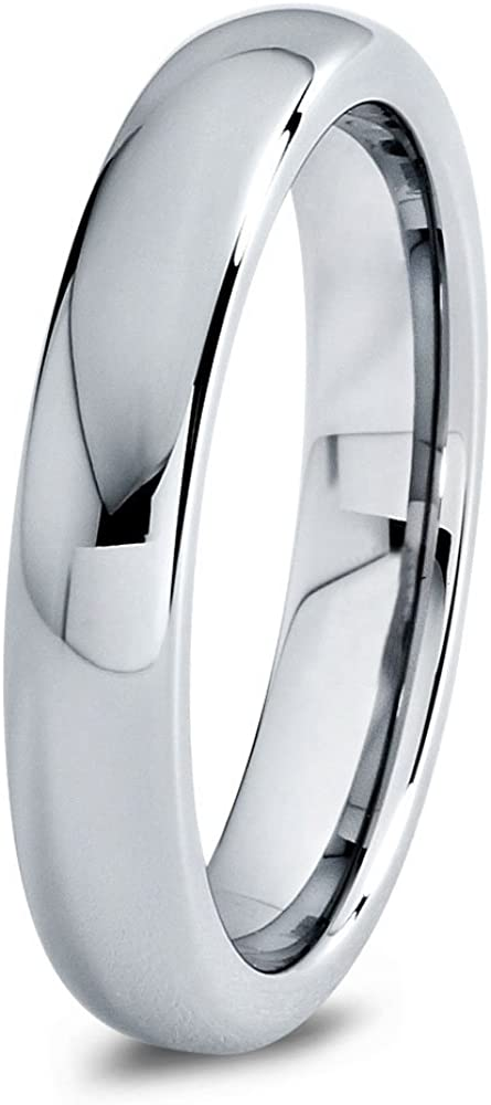Charming Jewelers Tungsten Wedding Superior Band Ring Women C Low price for 4mm Men