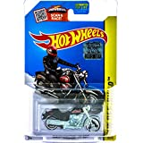 Hot Wheels 2015 HW Off-Road Harley-Davidson Fat Boy (Motorcycle) 82/250, Black