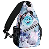 MOSISO 13 inch Sling Backpack, Multipurpose Hiking Daypack Outdoor Rope Crossbody Chest One Shoulder...