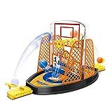 Atrumly Juego de Disparos Juego Baloncesto de 2 Jugadores Canasta de Deportes y diversión Juguete para Adultos