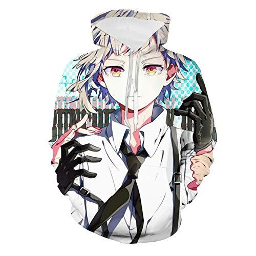 178 Anime Manga B-le-ac-h Juvenil Pullover Sudaderas con Capucha Nios Sudadera Moda Chndal