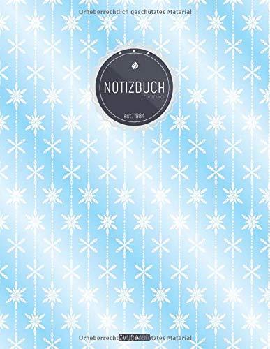 ZMUDACE Notizbuch Blanko: in DIN A4 Softcover |