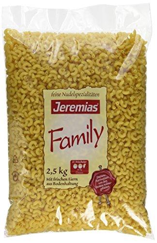 Jeremias Hörnchen, Family Frischei-Nudeln, 1er Pack (1 x 2.5 kg Beutel)