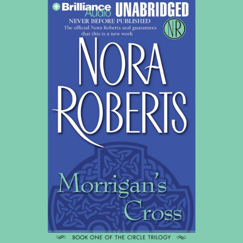 Morrigan's Cross audiobook cover art