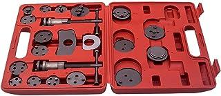 maXpeedingrods Conjunto de ferramentas de pinça de freio Master Disc com 21 peças e kit de ferramentas para encosto do vento