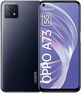 OPPO A73 5G Dual-SIM 128GB Factory Unlocked Android Smartphone (Navy Black) - International Version