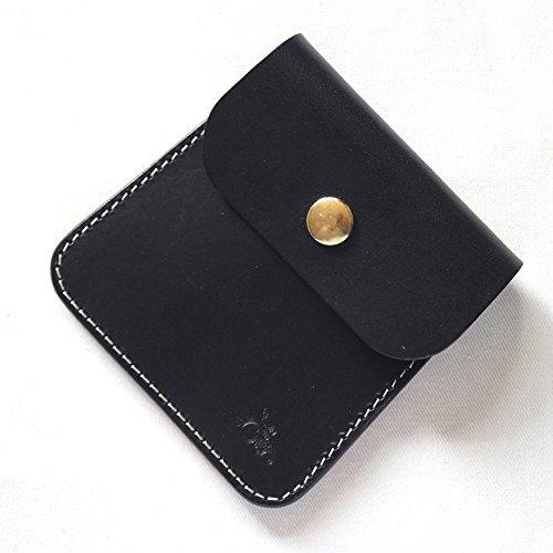 革蛸謹製 台形携帯灰皿 (ブラック)