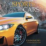 Sports Cars Calendar 2021: 16 Month Calendar