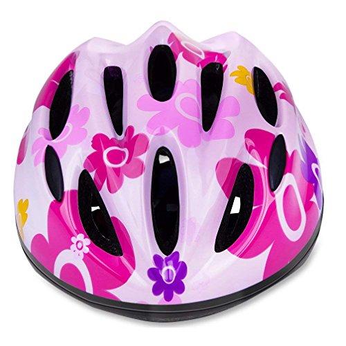 RIHE 軽量 自転車 ヘルメット 子供用 キッズ スケート ボード 安全 サイクリング ジュニア こども用 アジャ...