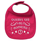 ClickInk Babero bebé Quieres ser mi madrina? Regalos para bebés. Regalo...