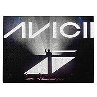 Avicii アヴィーチー10 パズル520個 漫画の風景のキャラクターなど、さまざまな興味深いパターンのおもちゃのギフト 木製パズル