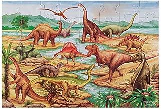 Melissa & Doug 48pc Floor Puzzle - Dinosaur,Multicolor