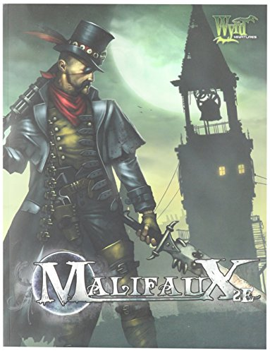 Price comparison product image Wyrd Miniatures Malifaux: Rulebook,  Second Edition