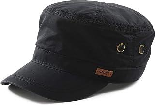 Fancet Mens Womens Adjustable Strapback Army Military Radar Hat Baseball Cadet Cap 56-64cm