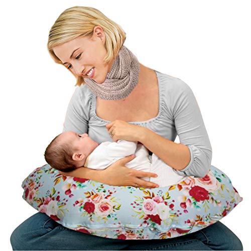 Kradyl Kroft 5in1 Baby Feeding Pillow with Detachable Cover (Flora) KK5in1-240