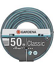 "GARDENA Classic slang 13 mm (1/2"") 50 m: Universele kruisgeweven tuinslang, 22 bar barstdruk, druk- en uv-bestendig (18010-20)"