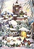 Adventskalender 'Burg im Schnee'