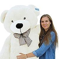 """Joyfay Giant Teddy Bear 78""""(6.5 Feet) White"""