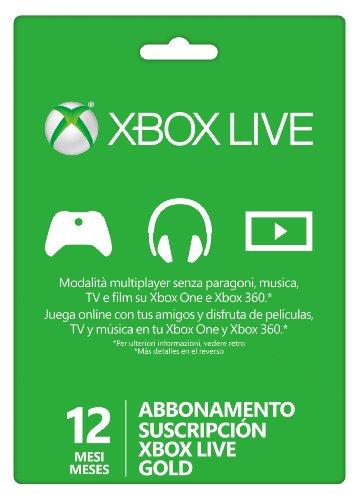 Xbox Live - Gold Card 12 Mesi