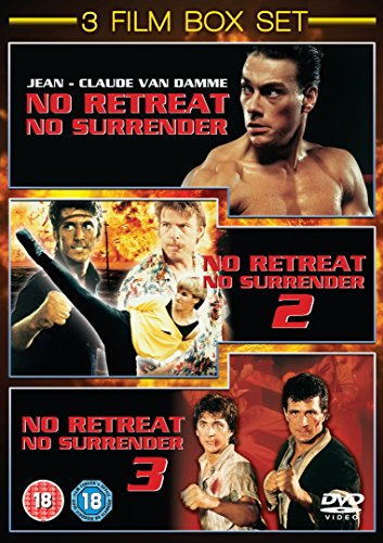 No Retreat No Surrender 1 - 3 [DVD]