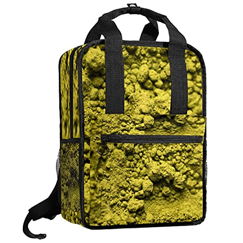 KAMEARI Sac à dos d'école, sac à dos, sac à bandoulière, sac à livres, thé vert, poudre de matcha